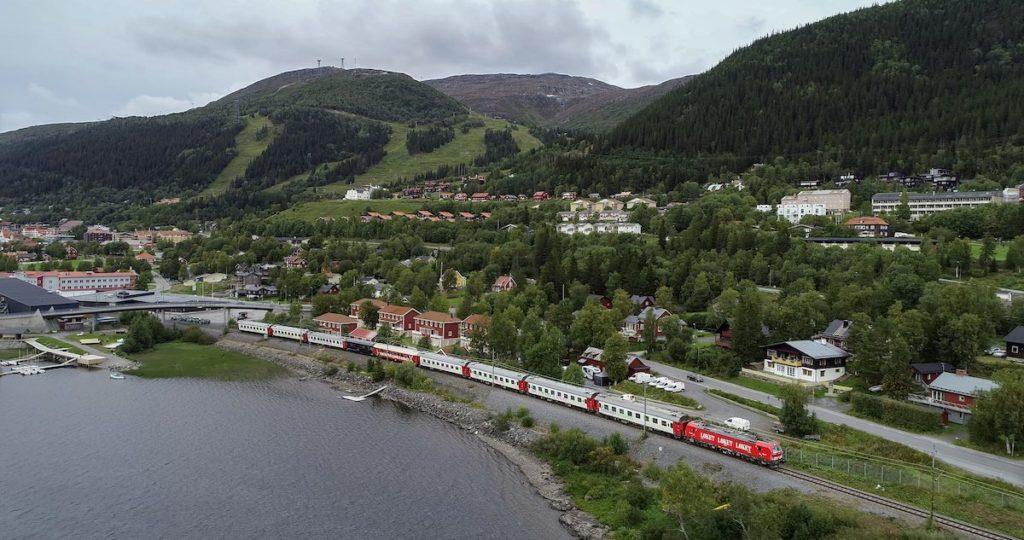 Tåg till Åre går året runt